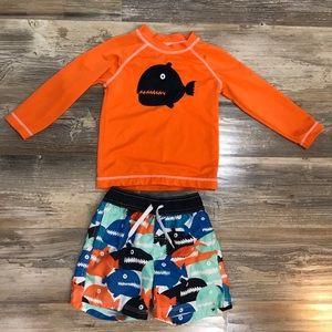 Boys Gymboree Swimsuit Set